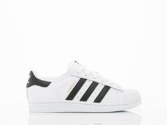 Adidas Originals In White Black White Superstar Womens