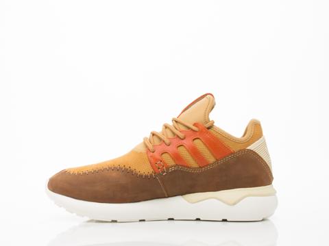 Adidas Originals In Mesa Fox Red Tubular Moc Runner Mens