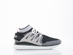 Adidas Originals In Black Grey White Tubular Nova PK Mens