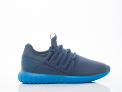Adidas Originals In Mineral Blue Tubular Radial Mens