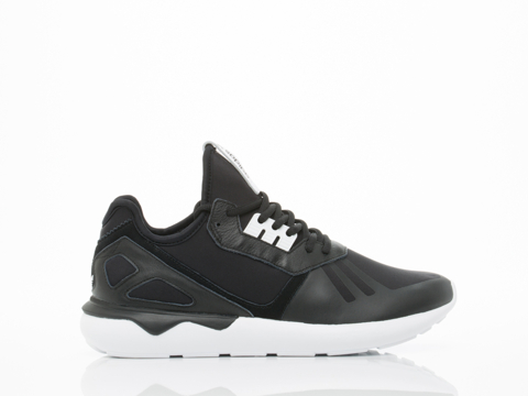 Adidas Originals In Black White Tubular Runner