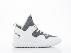 Adidas Originals In White White Grey Tubular X Mens