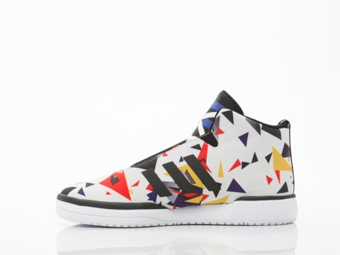 Adidas Originals In Off White Core Black White Veritas Mens