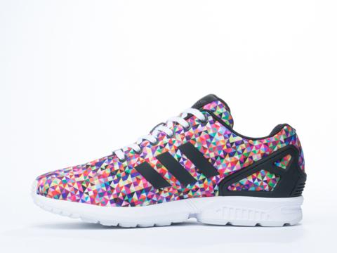 Adidas Originals In Black Black White ZX Flux