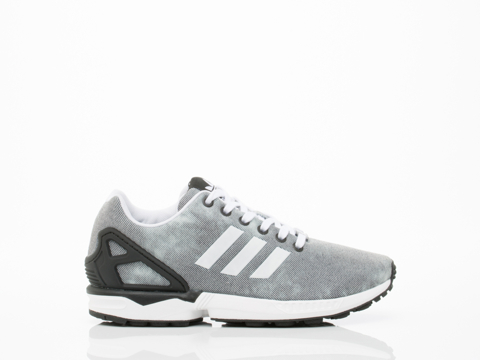 Adidas Originals In Grey Washed ZX Flux