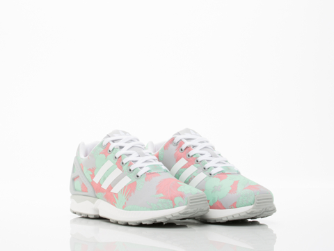 Adidas Originals In Light Onyx White Vista Pink ZX Flux