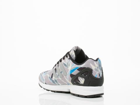 Adidas Originals In Onix Floral ZX Flux