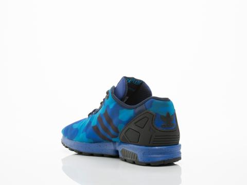 Adidas Originals In Royal Blue Black ZX Flux Decon Mens