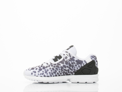 Adidas Originals In White Black B34032 ZX Flux Decon Womens