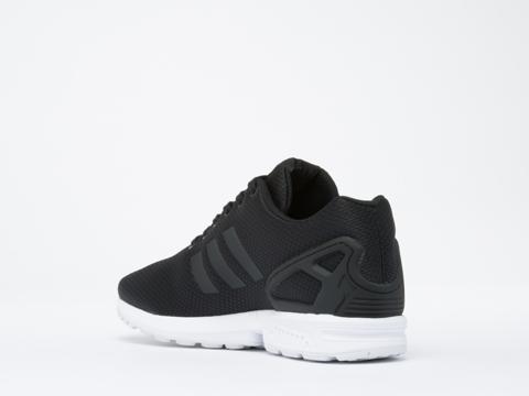 Adidas Originals In Black White ZX Flux Mens