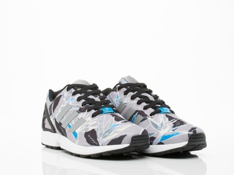 Adidas Originals In Onix Floral ZX Flux Mens