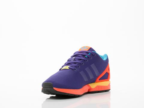 Adidas Originals In Purple Multi ZX Flux Mens