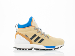 Adidas Originals In Sand Black White ZX Flux Winter Womens