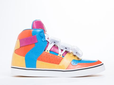 Adidas X Jeremy Scott In Multicolor Bones