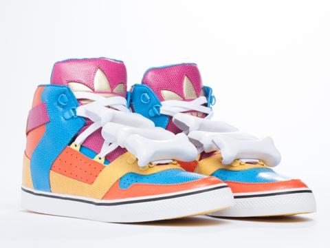 Adidas X Jeremy Scott In Multicolor Bones Mens