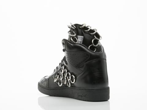 Adidas X Jeremy Scott In Black Instinct Hi Ring Mens