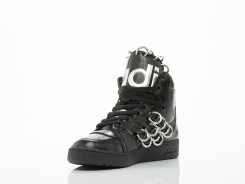 Adidas X Jeremy Scott In Black Instinct Hi Ring Womens