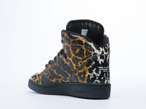 Adidas X Jeremy Scott In Leopard Instinct Hi Womens
