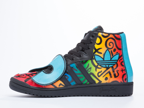 Adidas X Jeremy Scott In Multicolor JS Letters