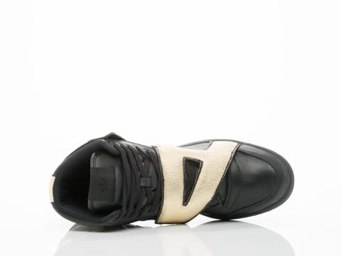 Adidas X Jeremy Scott In Black Gold JS Letters Mens