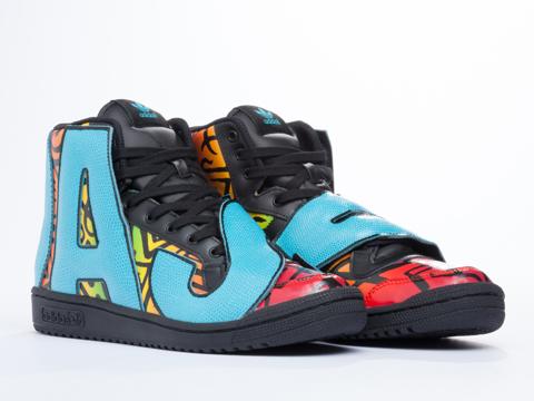 Adidas X Jeremy Scott In Multicolor JS Letters Mens
