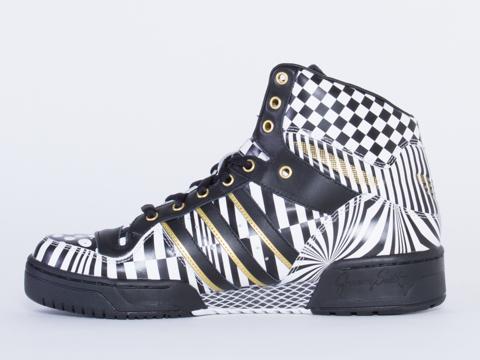 Adidas X Jeremy Scott In Checker JS Wings