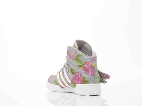 Adidas X Jeremy Scott In Floral JS Wings