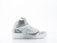Adidas X Jeremy Scott In Silver JS Wings Metal Mens