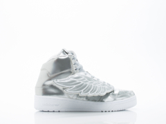 Adidas X Jeremy Scott In Silver JS Wings Metal Womens