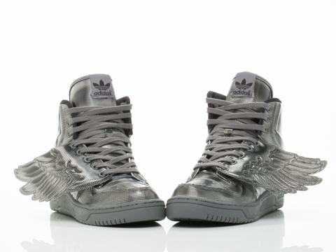 Adidas X Jeremy Scott In Black Black JS Wings Molded