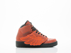 Adidas X Jeremy Scott In Red Wings BBall Womens