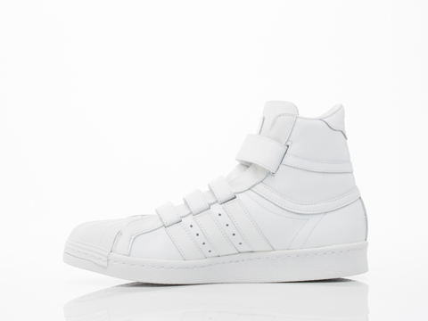 Adidas X Juun.J In White Promodel 80s Hi JJ Mens