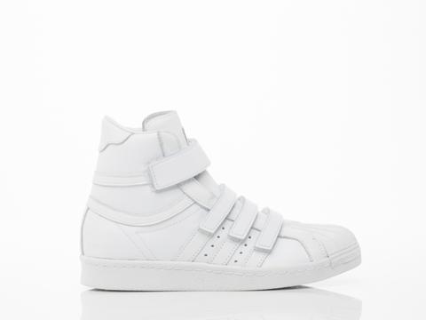 Adidas X Juun.J In White Promodel 80s Hi JJ Womens