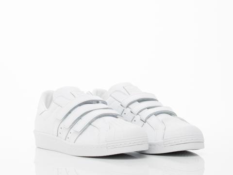 Adidas X Juun.J In White Superstar 80s JJ Womens