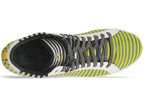 Adidas X Opening Ceremony In Black Sun Fern Green Rod Laver Vintage Hi