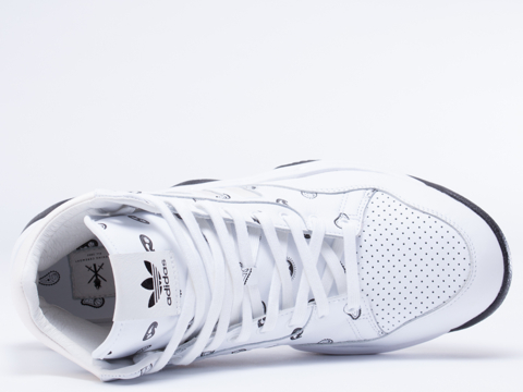 Adidas X Opening Ceremony In White Top Ten BBall Mens