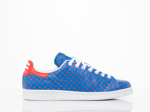 Adidas X Pharrell Williams In Blue Red PW Stan Smith SPD