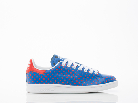 Adidas X Pharrell Williams In Blue Red PW Stan Smith SPD Womens