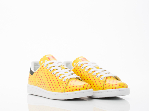 Adidas X Pharrell Williams In Yellow Red PW Stan Smith SPD Womens