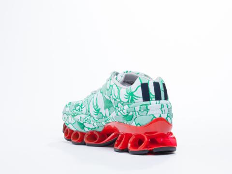Adidas X Raf Simons In Pantone Poppy Black Bounce