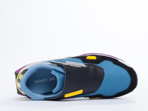 Adidas X Raf Simons In Powder Blue Light Onyx Formula One