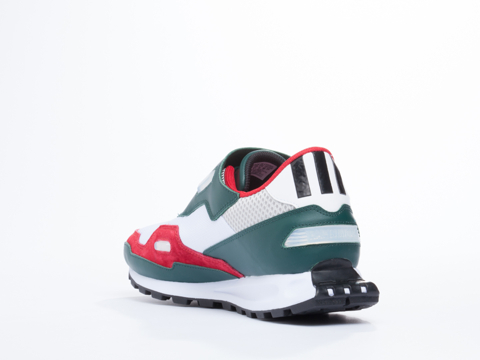 Adidas X Raf Simons In White Ivy Red Formula One Mens