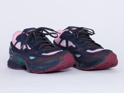 Adidas X Raf Simons In Dark Marine Ozweego 2