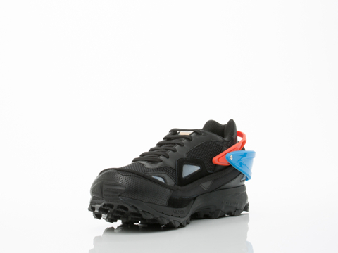 Adidas X Raf Simons In Black Blue Orange Response Trail Mens