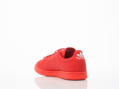 Adidas X Raf Simons In Red Stan Smith