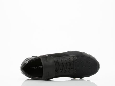Adidas X Rick Owens In Black Black Black Springblade Low Mens
