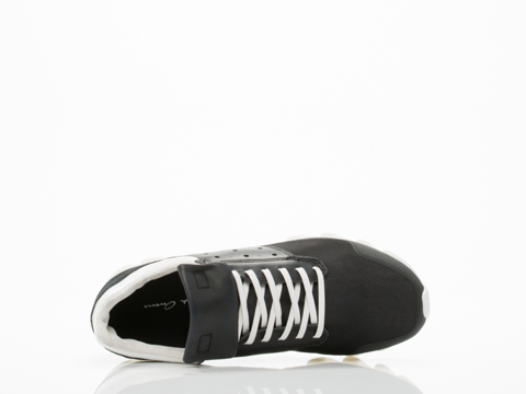 Adidas X Rick Owens In Black Black White Springblade Low Womens