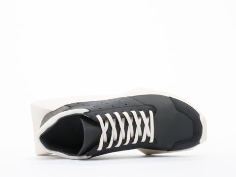 Adidas X Rick Owens In Black Bone Tech Runner Mens
