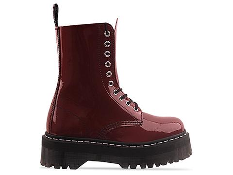 Agyness Deyn X Dr. Martens In Cherry Red Rouge Aggy
