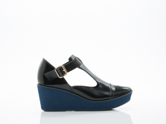 All Black In Black Bluemoon Wedge